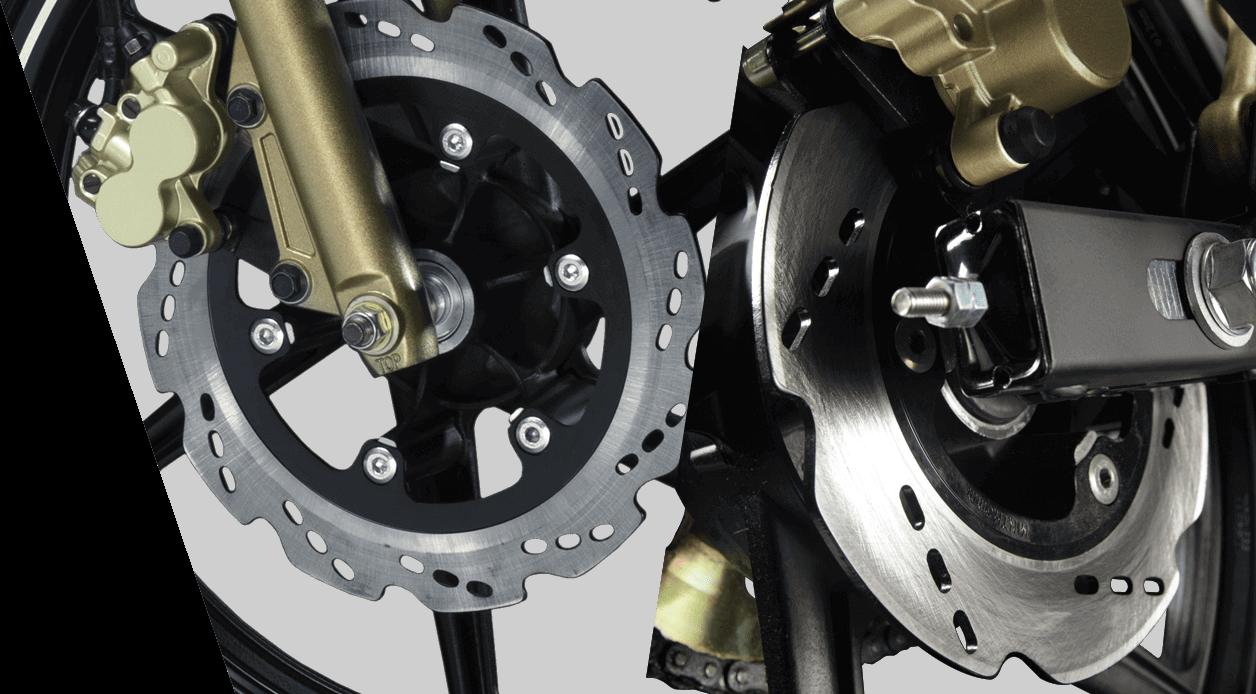 Tvs Apache Rtr 160 Performancefeaturescolorssafety Comfort Jet Mate Wiring Diagram Roto Petal Disc Brakes
